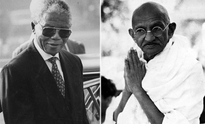 gandhi king and mandela what made non violence work What made gandhi's, king's, and mandela's non-violent protests successful is that they put their opponent's economic profits at risk, willingly accepted punishments, and embraced their enemies in dharasana, india in may, 1930, mohandas gandhi planned the salt march to fight the british salt tax before he was arrested.